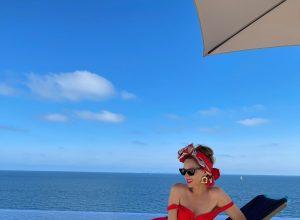 Alexandra Lapp, Mallorca, vacation, holiday, dior, gucci, hermès, breuninger, jenniver behr, alexandra miro, zimmermann, superbrands, fashion, suzanna perrez, sara loren