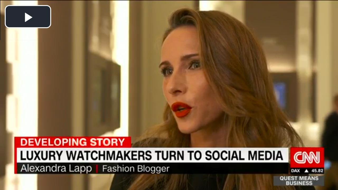 Alexandra Lapp Interview with CNN